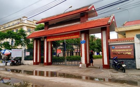 """Bệnh viện Đa khoa Bắc Quảng Bình nơi bị """"tố"""" xử lý tắc trách dẫn đến cái chết đau lòng cho mẹ con sản phụ"""