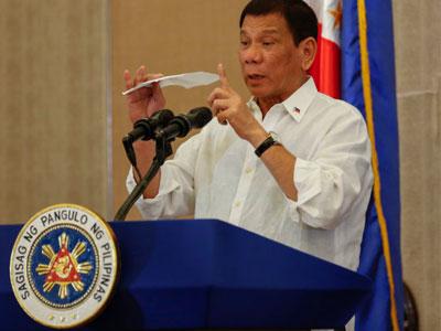 """Tổng thống Duterte: """"Ma túy sẽ phá hủy thế hệ người Philippines tiếp theo"""