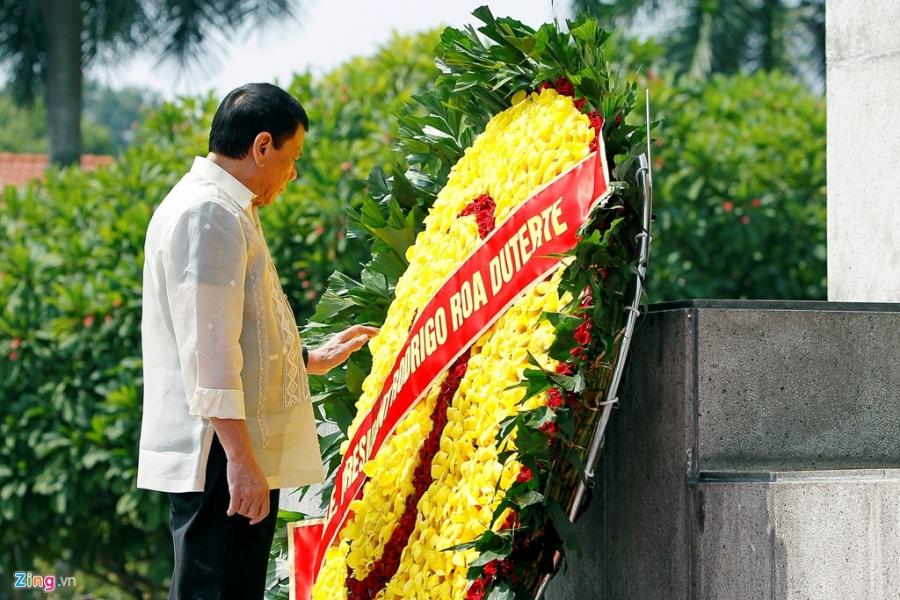 Chu tich nuoc Tran Dai Quang tiep Tong thong Philippines hinh anh 2