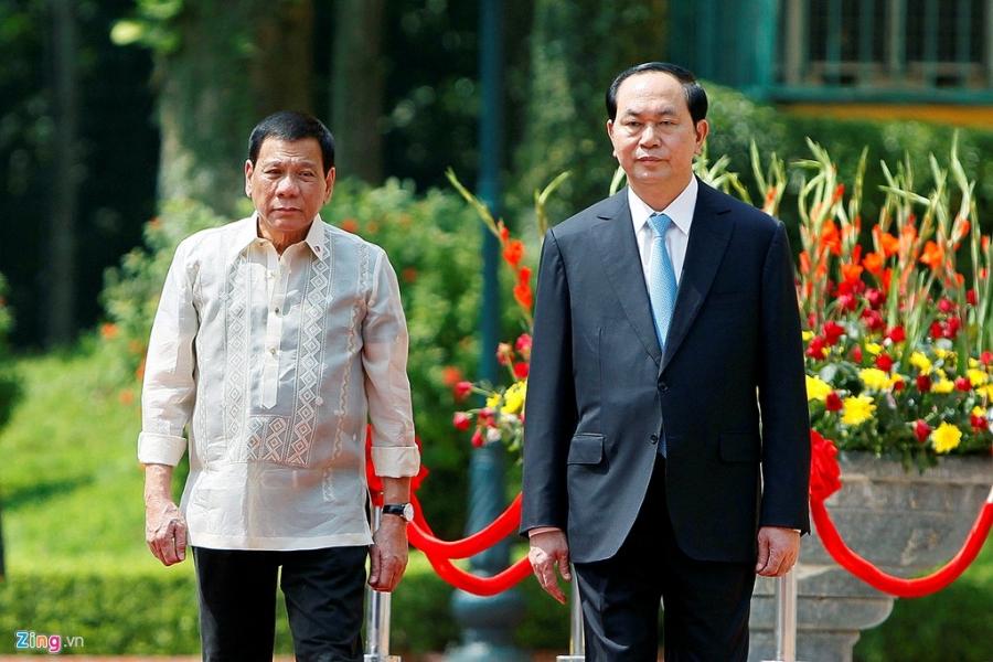 Chu tich nuoc Tran Dai Quang tiep Tong thong Philippines hinh anh 3