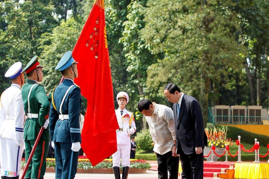 Chu tich nuoc Tran Dai Quang tiep Tong thong Philippines hinh anh 4