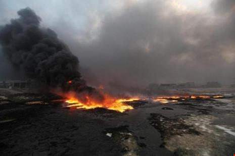 mỏ dầu Qayyara Iraq