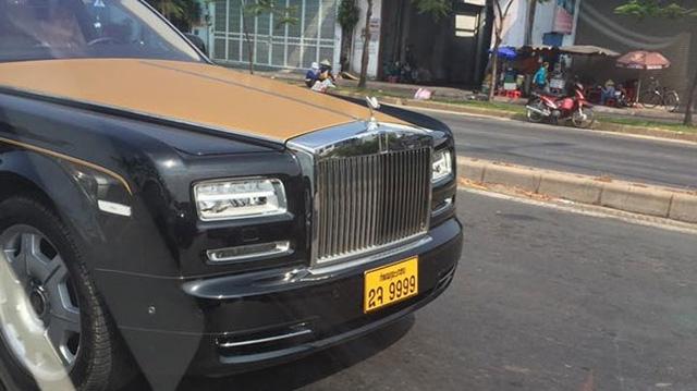 Cận cảnh Rolls-Royce Phantom Series II của đại gia Lào.