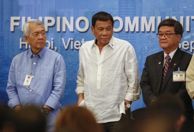 """Tổng thống Duterte:""""Ma túysẽ phá hủy thế hệ người Philippines tiếp theo"""