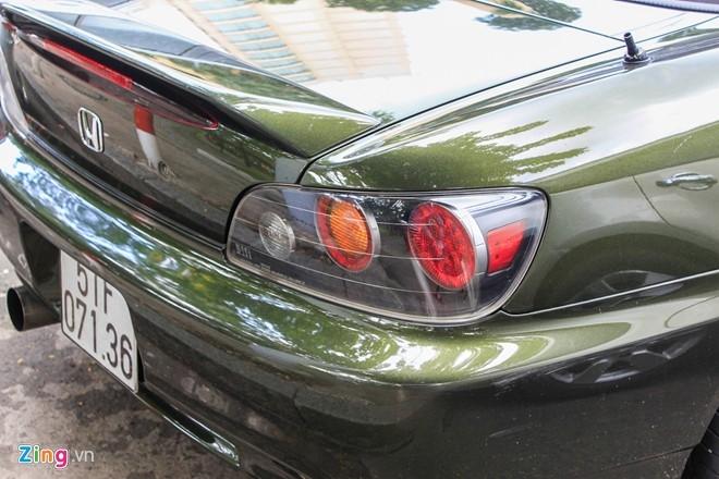 Xe the thao mui tran Honda S2000 tai xuat tai Sai Gon hinh anh 5