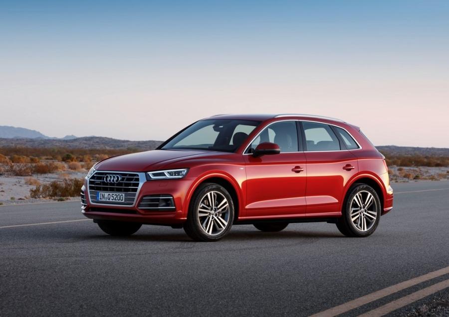 Audi Q5 2017 dang the thao hon, gia tu 50.000 USD hinh anh 4