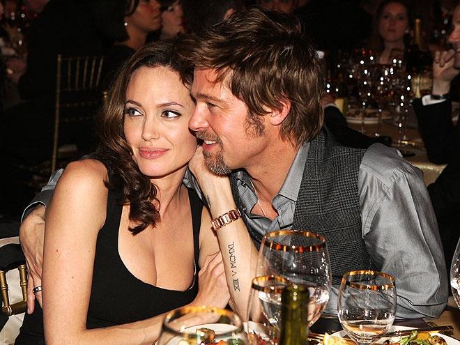 Brad Pitt, Angelina Jolie, Jennifer Aniston, Justin Theroux, Brad Pitt và Angelina Jolie ly hôn