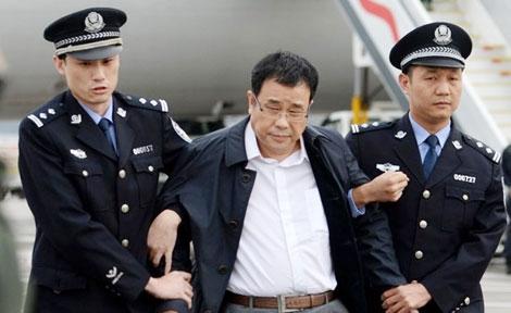 Lý Hoắc Bác, cựu quan chức Trung Quốc bị dẫn độ hồi tháng 5-2015.