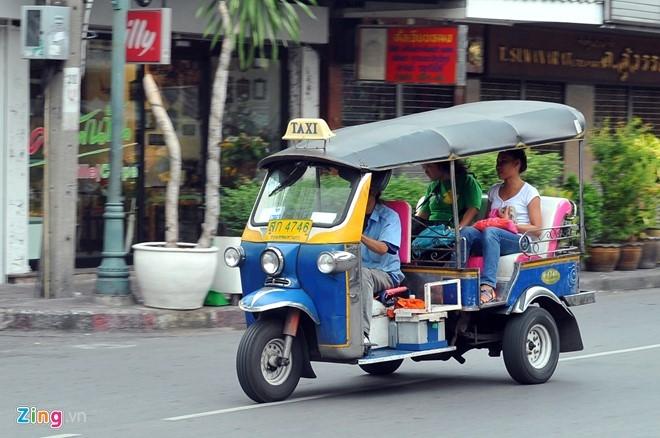 Phuong tien giao thong cong cong da dang o Thai Lan hinh anh 13
