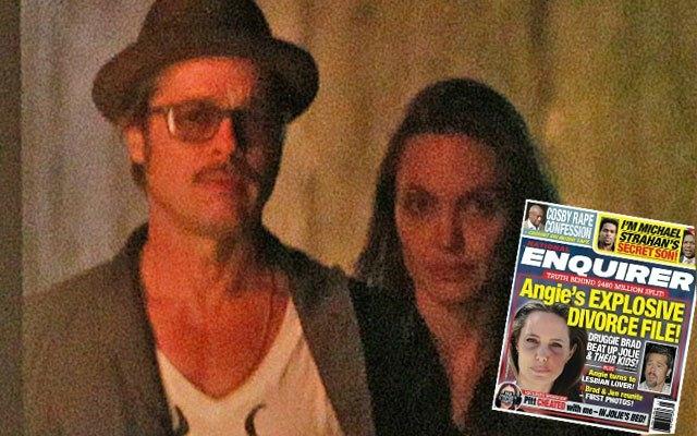 Rộ tin Brad Pitt ngủ với người khác trên giường Angelina Jolie và đánh đập vợ - Ảnh 2.