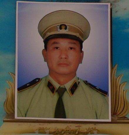 Anh Nguyễn Kim Danh, cán bộ quản lý thị trường hy sinh khi đang làm nhiệm vụ