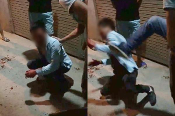 Hà Nội: Xôn xao clip nam thanh niên hiếp dâm bất thành bị đánh tơi bời - Ảnh 2.