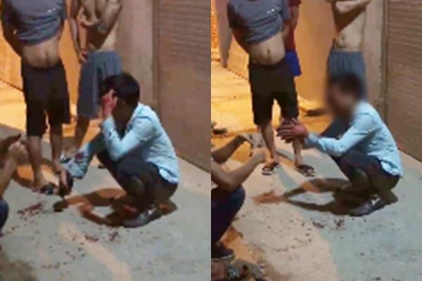 Hà Nội: Xôn xao clip nam thanh niên hiếp dâm bất thành bị đánh tơi bời - Ảnh 3.