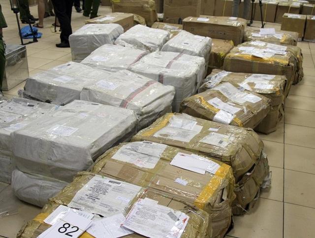 Lá khát bị phát hiện khi vận chuyển vào Việt Nam. Ảnh: TL