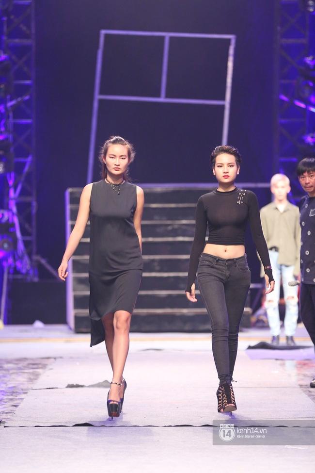 Những hình ảnh đầu tiên về sân khấu và top 18 đang tập Chung kết Next Top Model! - Ảnh 9.