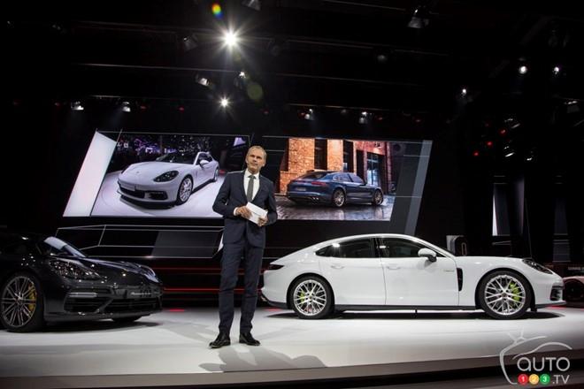 Porsche Panamera 4 E-Hybrid: Xe sang tiet kiem xang hinh anh 1