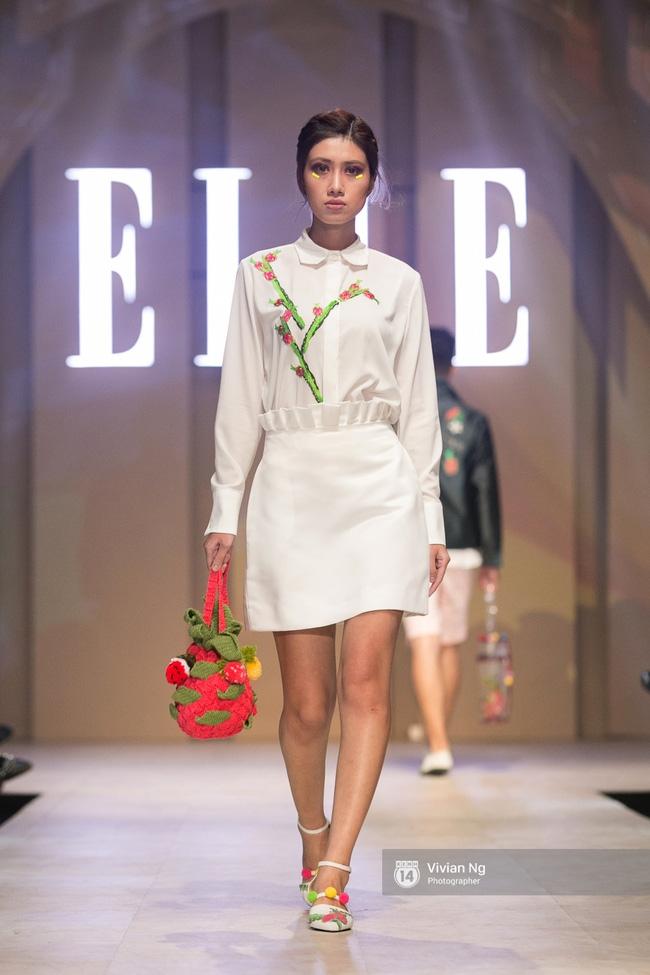 Chẳng ai có thể ngờ Hoa hậu Kỳ Duyên xuất hiện trên sàn catwalk Elle Show 2016! - Ảnh 21.