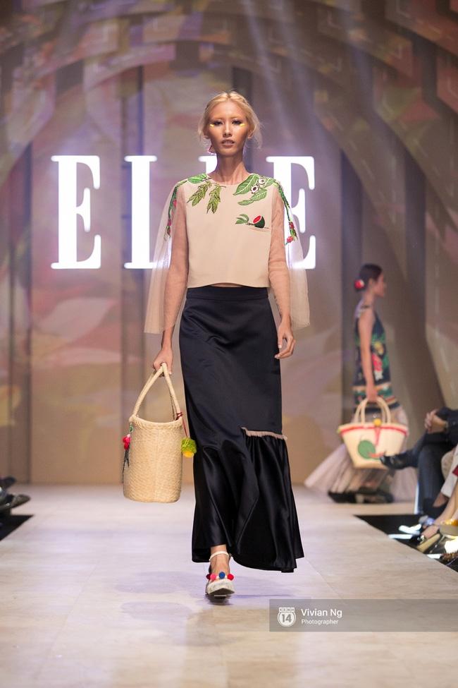 Chẳng ai có thể ngờ Hoa hậu Kỳ Duyên xuất hiện trên sàn catwalk Elle Show 2016! - Ảnh 25.