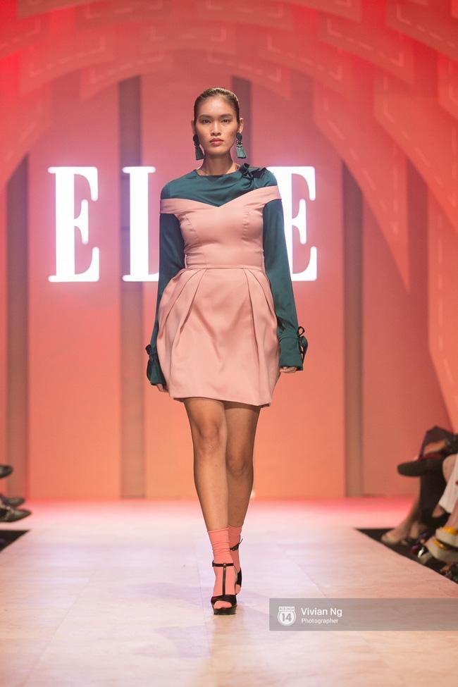Chẳng ai có thể ngờ Hoa hậu Kỳ Duyên xuất hiện trên sàn catwalk Elle Show 2016! - Ảnh 44.