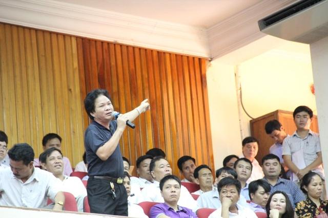 Ông Trần Phát Đạt - Chủ tịch Hiệp hội doanh nghiệp huyện Hương Khê, Hà Tĩnh.