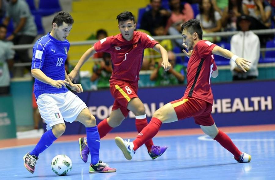 tuyển futsal Việt Nam, World Cup futsal 2016, Fair-play, bầu Tú, HLV Nguyễn Bảo Quân