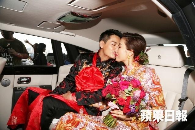 Hoa dan TVB Duong Di deo vang triu tay trong ngay cuoi hinh anh 7