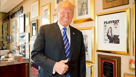 Phát hiện ông Trump đóng 'phim người lớn' cho Playboy - Ảnh 1.