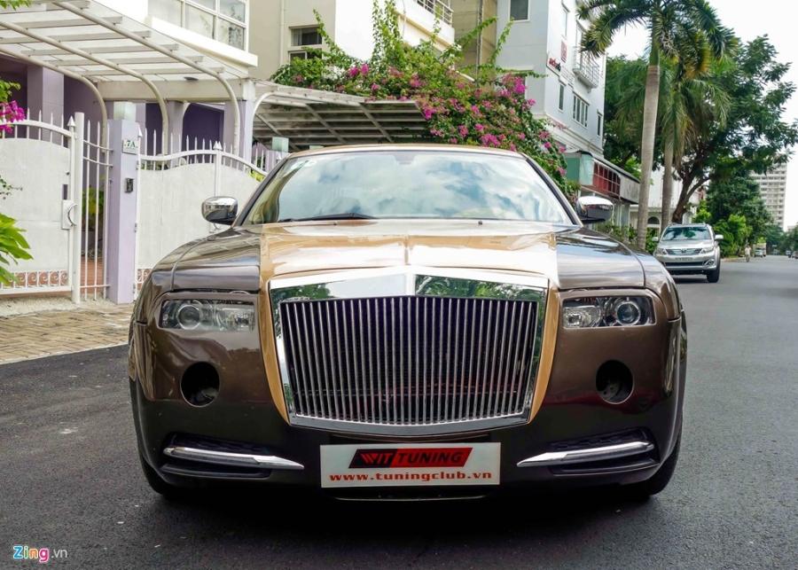 Tho Viet do Chrysler 300C thanh 'Rolls-Royce' het 200 trieu hinh anh 2