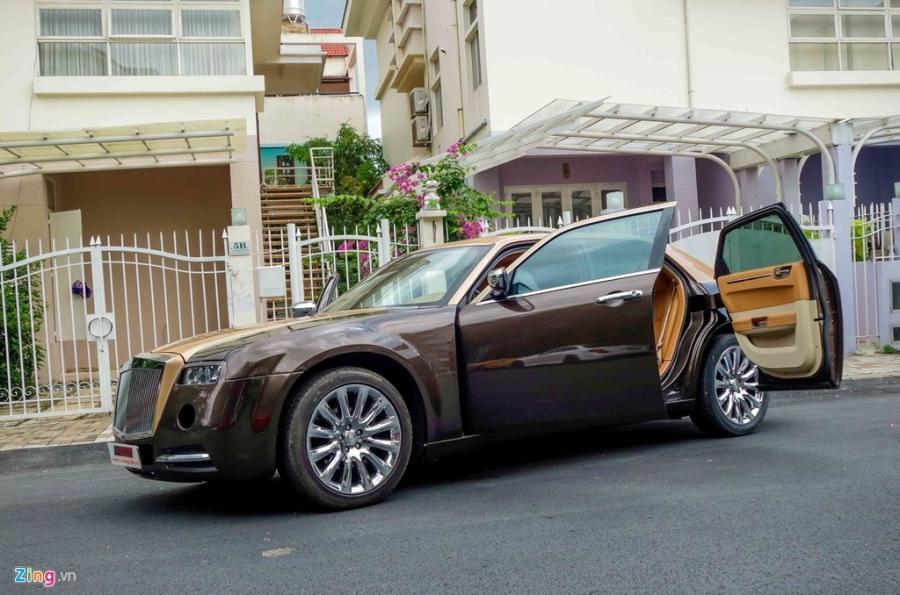 Tho Viet do Chrysler 300C thanh 'Rolls-Royce' het 200 trieu hinh anh 3