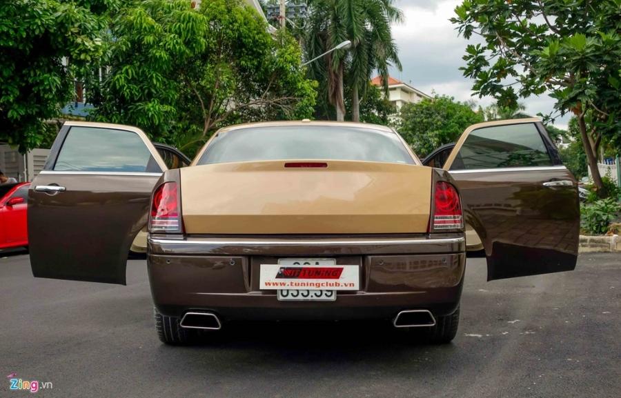 Tho Viet do Chrysler 300C thanh 'Rolls-Royce' het 200 trieu hinh anh 6