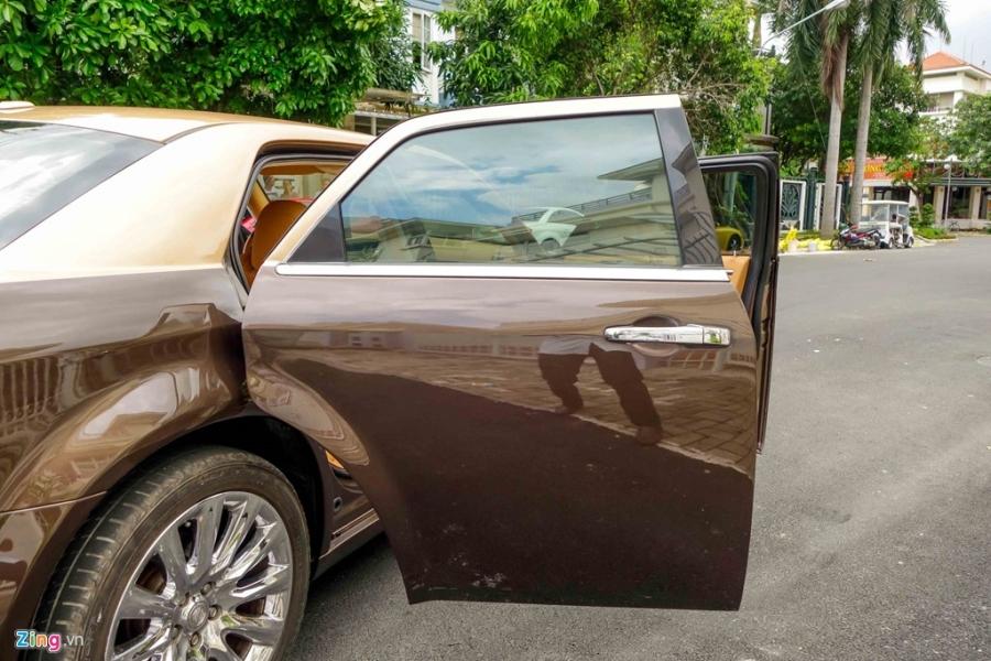 Tho Viet do Chrysler 300C thanh 'Rolls-Royce' het 200 trieu hinh anh 8