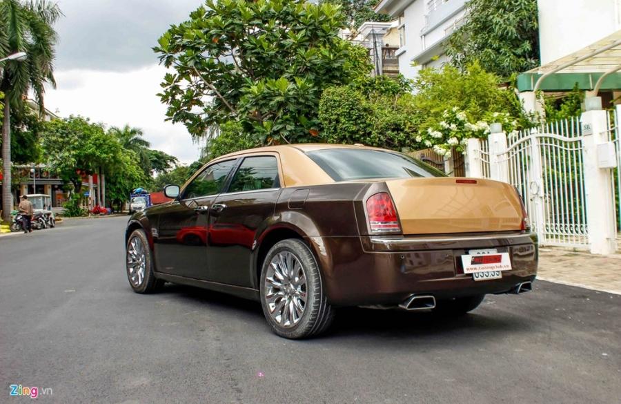 Tho Viet do Chrysler 300C thanh 'Rolls-Royce' het 200 trieu hinh anh 15