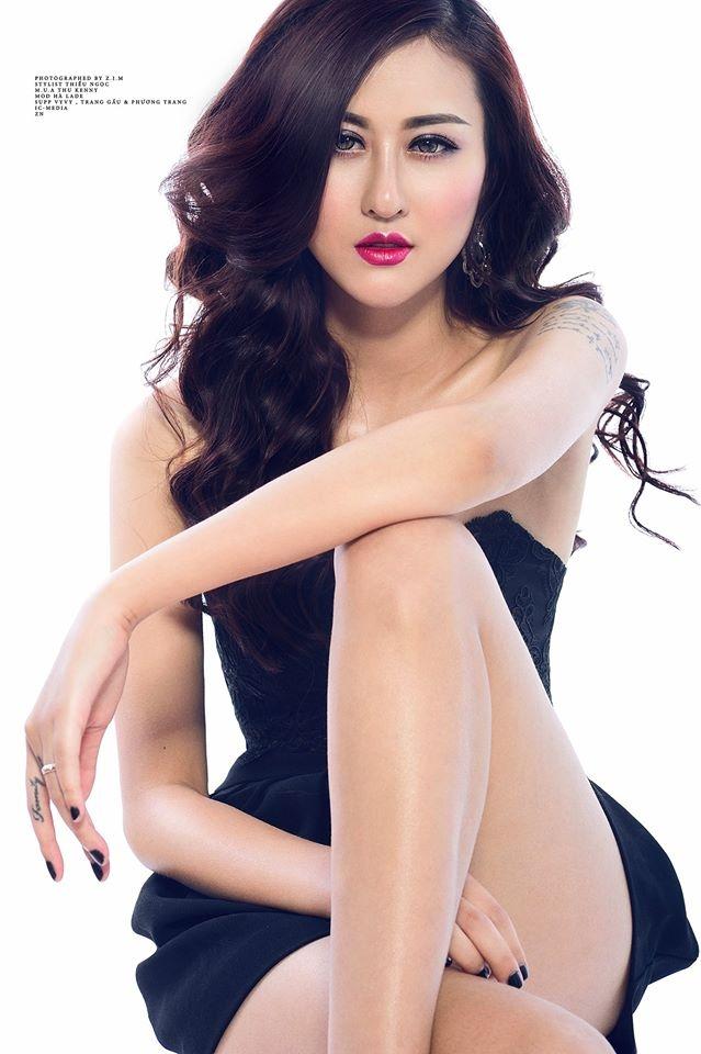 Vẻ đẹp cá tính của hot girl sinh năm 1994