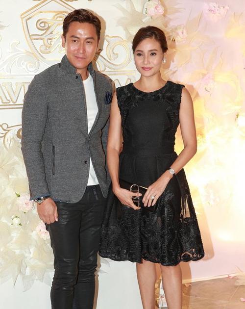 Vợ chồng Mã Đức Chung.