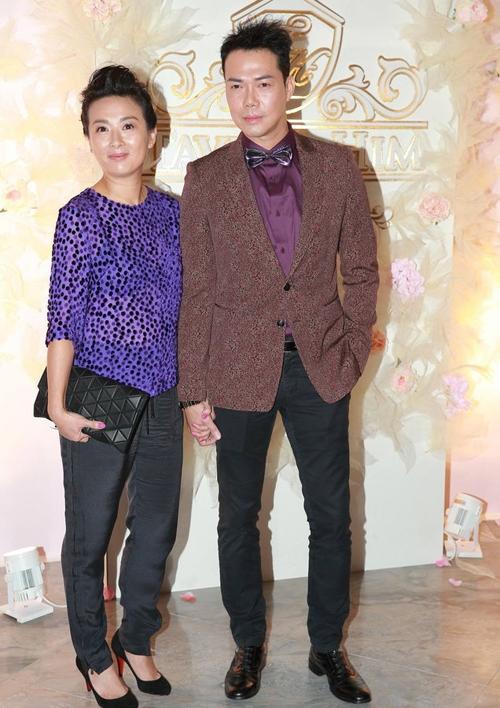 Vợ chồng Tạ Thiên Hoa.