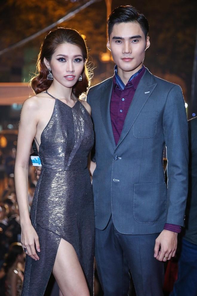 Hoang Thuy Linh du xa don tren san khau Next Top Model hinh anh 10