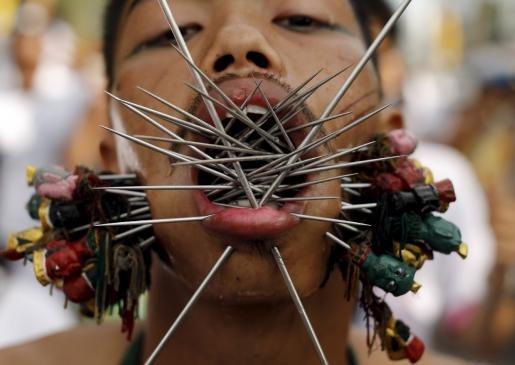 Le hoi an chay rung ron o Thai Lan hinh anh 9