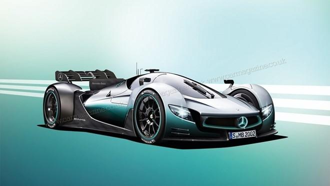 Mercedes sap gioi thieu xe dua F1 chay tren pho hinh anh 1