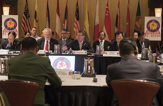 Hội nghị không chính thức Bộ trưởng Quốc phòng Mỹ - ASEAN. (Ảnh: AsiaMaritime)