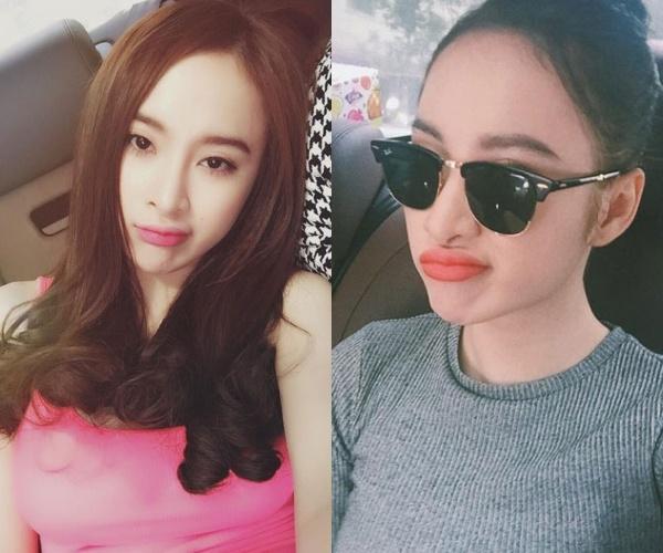 Những đôi môi căng mọng bất thường của loạt mỹ nhân Việt - Ảnh 4.