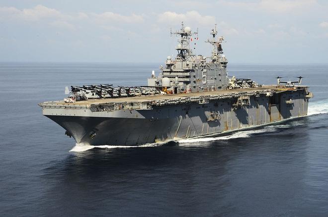 [Ảnh] Siêu hạm Mỹ từng được dự định mang tên địa danh Việt Nam - Ảnh 2.