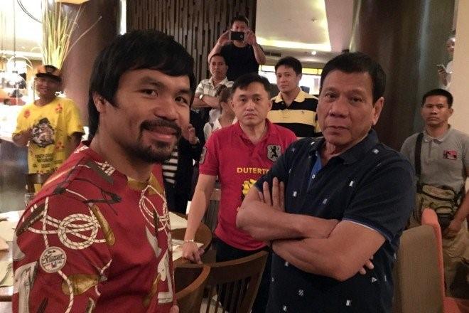 Vo si huyen thoai Pacquiao: Duterte duoc Chua lua chon hinh anh 2
