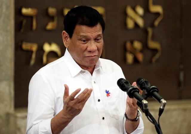 Tổng thống Duterte (Ảnh: Reuters)