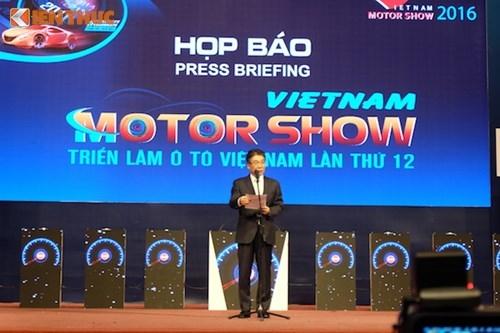 Trien lam oto Viet Nam 2016 chinh thuc khai man