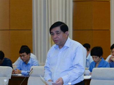 Bộ trưởng Kế hoạch & Đầu tư: Luật ra chậm vì các Bộ mải