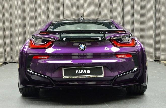 BMW i8 do chinh hang mau doc tai Abu Dhabi hinh anh 6