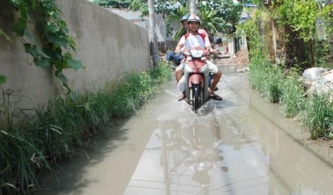 Dân Sài Gòn khổ sở vì nước ngập cả tháng không rút - ảnh 19