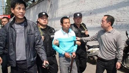 Lý Hạo lúc bị bắt.