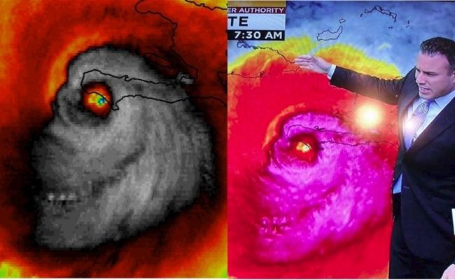 Mỹ: Hình ảnh vệ tinh của cơn bão mặt quỷ Matthew đang khiến người dân khiếp vía - Ảnh 1.