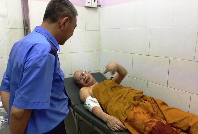 Sư thầy Nguyên Tuệ và các nạn nhân khác hiện sức khoẻ đã ổn định và đang tiếp tục được chăm sóc tại bệnh viện.